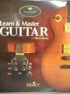 GIBSONS LEARN AND & MASTER GUITAR STEVE KRENZ ACADEMIC/HOME SCHOOL ED