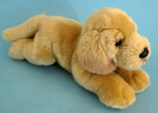 Yomiko Classics Yellow Golden Labrador Dog Puppy Soft Plush Toy