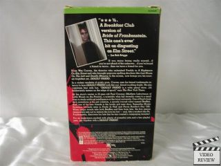 Deadly Friend VHS Matthew Laborteaux Kristy Swanson 085391160137