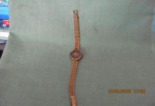 La Marque 17 Jewel Ladies Wrist Watch Wind Up Band