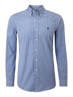 Polo Ralph Lauren Long sleeved stripe shirt Blue
