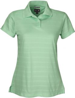 Adidas Golf Ladies ClimaCool Mesh Solid Textured Polo A62