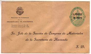 Costa Rica Official PSE Secretaria Hacienda 13 cts RARE