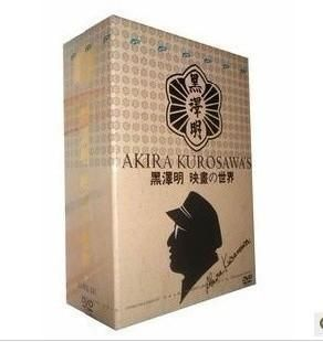 New Japanese Director Akira Kurosawa Movie Collection 33DVD