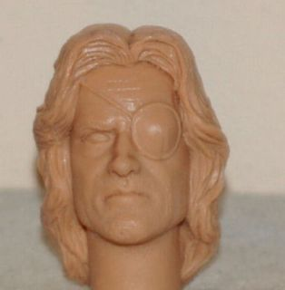 12 1 6 Custom Kurt Russell Snake Plissken Figure Head