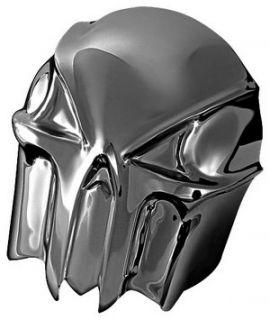 Kuryakyn Skull Horn Cover Black Chrome Harley 92 10