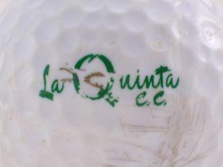 La Quinta Country Club Logo Golf Ball 3491