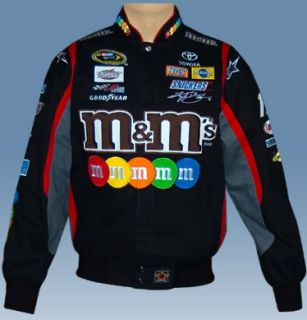 Kyle Busch M M Racing Cotton Twill NASCAR Jacket 3XL