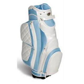 Burton Verona Ladies Cart Golf Bag Lt Blue Pearl