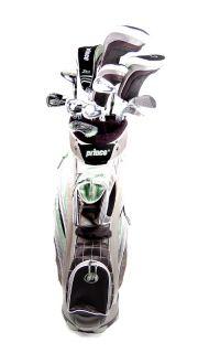 New Prince Zmax 12 Club Ladies Complete Golf Set RH 1 w Cart Bag
