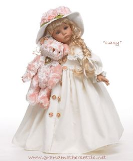LACY   18 collectible DollMaker and Friends doll, artist Linda Rick