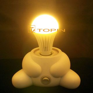 10x 7W E27 LED Lamp Bulb White Warm Light Energy Saving Super Bright