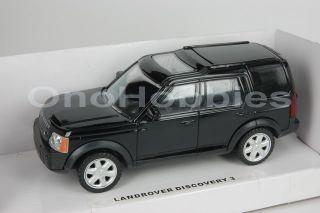 Rastar Land Rover Discovery 3 1 43 Die Cast New Black