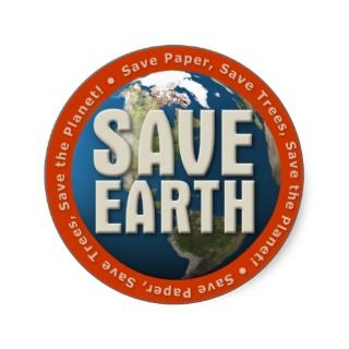 001:04) Save Earth   Sticker