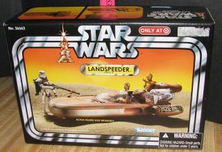 New Star Wars Landspeeder Vehicle Target Exclusive 2011