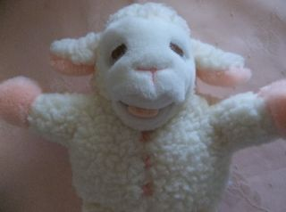 Sherry Lewis Lamb Chop Full Body Fleece Hand Puppet Avon 1991