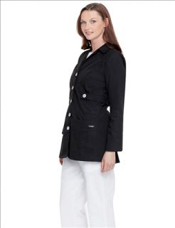 Landau 3012 Trench Style Lab Coat Buy 3 SHIP $6