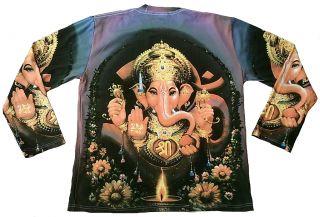 Lord Ganesh Ganesha Popular Hindu Deity Tattoo Art Goa DJ Designer T