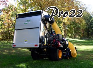New Peco Pro 22 Cubic Foot Vac System w 7 HP Yanmar Electric Diesel