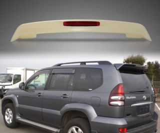 New Toyota Prado Land Cruiser 120 FJ120 Rear Wing Roof Spoiler LED