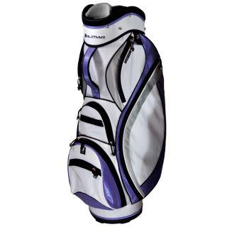 Orlimar Golf Ladies ZX Cart Bag Purple Sliver White