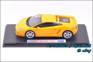 Welly 1 18 Lamborghini Gallardo Diecast Model Orange