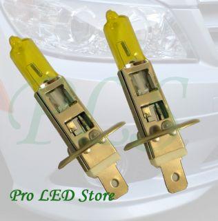 100W Amber Yellow Low High Beam Fog Light Bulbs Plug and Play 100W 12V