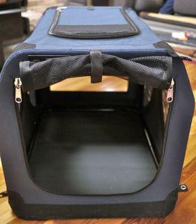 Large First Trax Noztonoz Sof Krate Collapsible Foldable Mesh Dog Pet