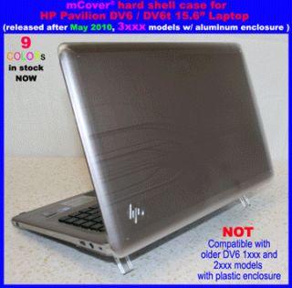 ® HARD Shell Cover CASE for 15.6 HP Pavilion DV6 3xxx series laptop