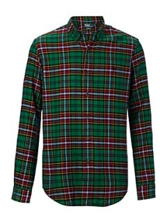 Polo Ralph Lauren Long sleeved plaid shirt Green