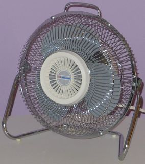Lakewood Vintage Electric Fan Tilting Floor Model Ultra Clean Near