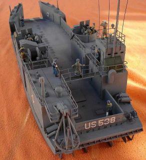 72 Mach 2 U s Navy LCT 6 WWII Landing Craft Tank