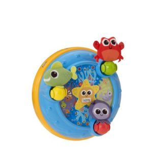 Features of Lamaze Discover the Sea Carousel Musical Crib & Floor Toy