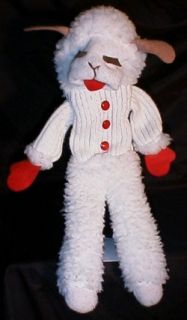 Shari Lewis Lamb Chop 19 Full Body Plush Puppet 1993