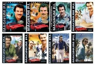 New Magnum P I Pi DVD Complete Series 1 8 Seasons 1 2 3 4 5 6 7 8