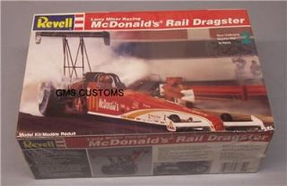 Revell Larry Minor Racing McDonalds Top Fuel Dragster