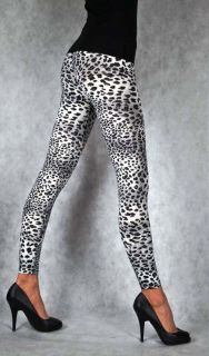 New Sexy Womens Leopard Print Full Length Leggings Ladies Legging One