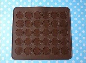 Macaron Special Baking Mat Silicone Mat Mold Random Color 29 26cm