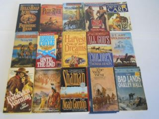Historical Fiction Paperback Books ~ Larry Mcmurtry ~ Terry C Johnston