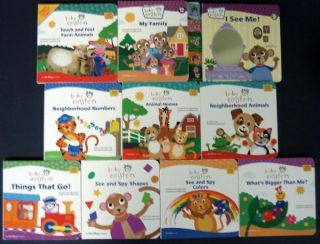Disney Baby Einstein Brand 10 Board Books Lot Toddler New Preschool