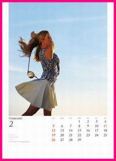 Paula Creamer Calendar 2017