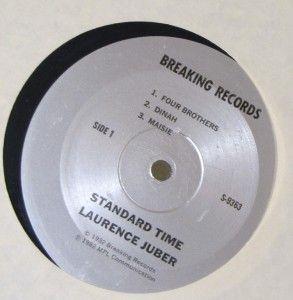 Autographed Original Laurence Juber Standard Time Album
