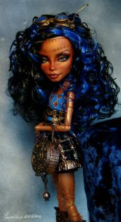 Monster High Doll Steampunk Repaint Repaint by Laurie Leigh