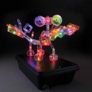 Laser Pegs Illuminated 3D Models Construction Board Kit Toys