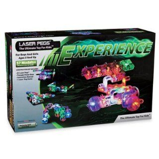 Laser Pegs Experience Kit Builds 57+ models w/81 laser pegs Factory