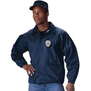 Law Enforcement Navy Blue Emergency Response Coaches Jacket