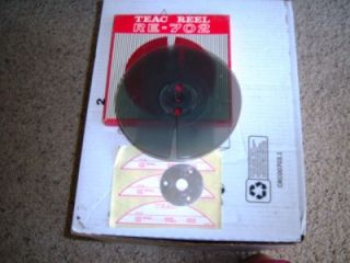 Teac RE 702 Plastic Reel to Reel With Original Box & Labels FREE