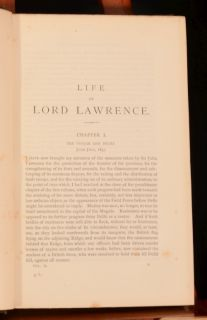 1885 2vol R Boswell Smith Life of Lord Lawrence Portraits Maps