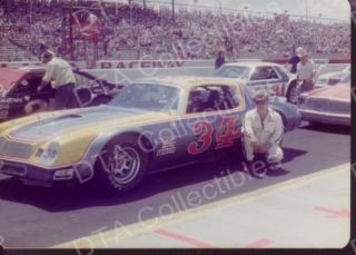 Bob Brevak 34 Stock Car Indy NASCAR 1978 Race Photo FN