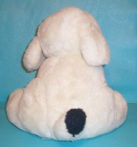 Vintage 1987 Dayton Lazarus Stuffed Plush Toy Puppy Dog